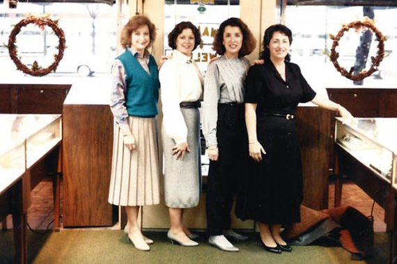 Maryjo, Peg, Judith & Georgia 1990