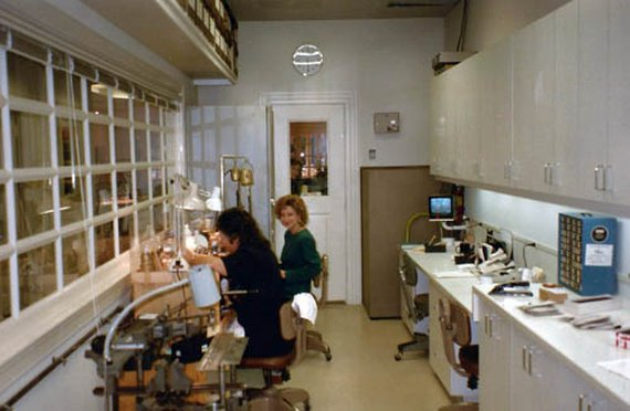 Georgia & Mary Jo Shop 1990