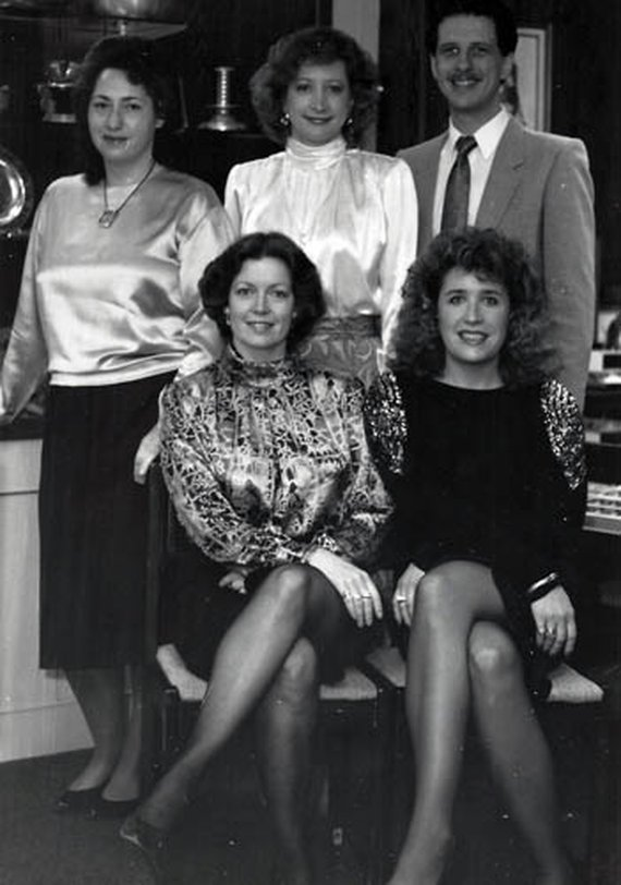 Georgia, Mary Jo, Mike, Peg, Judith